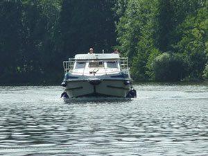 location bateaux sans permis Moselle