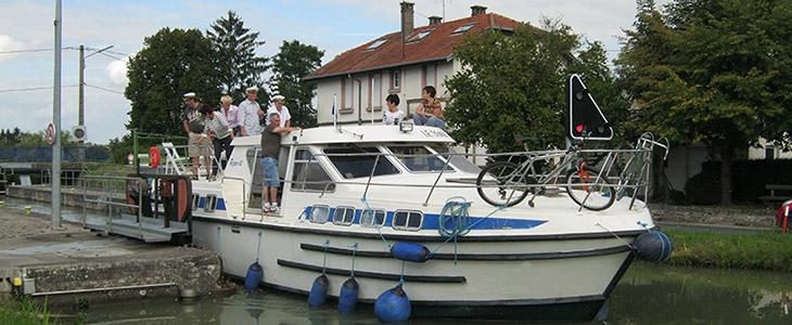 Location de bateaux sans permis à Mittersheim